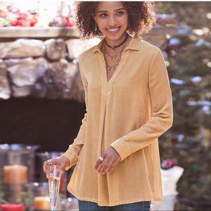 Sundance velvet blouse